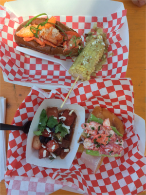 Garbo's and Dock and Roll Lobster Rolls