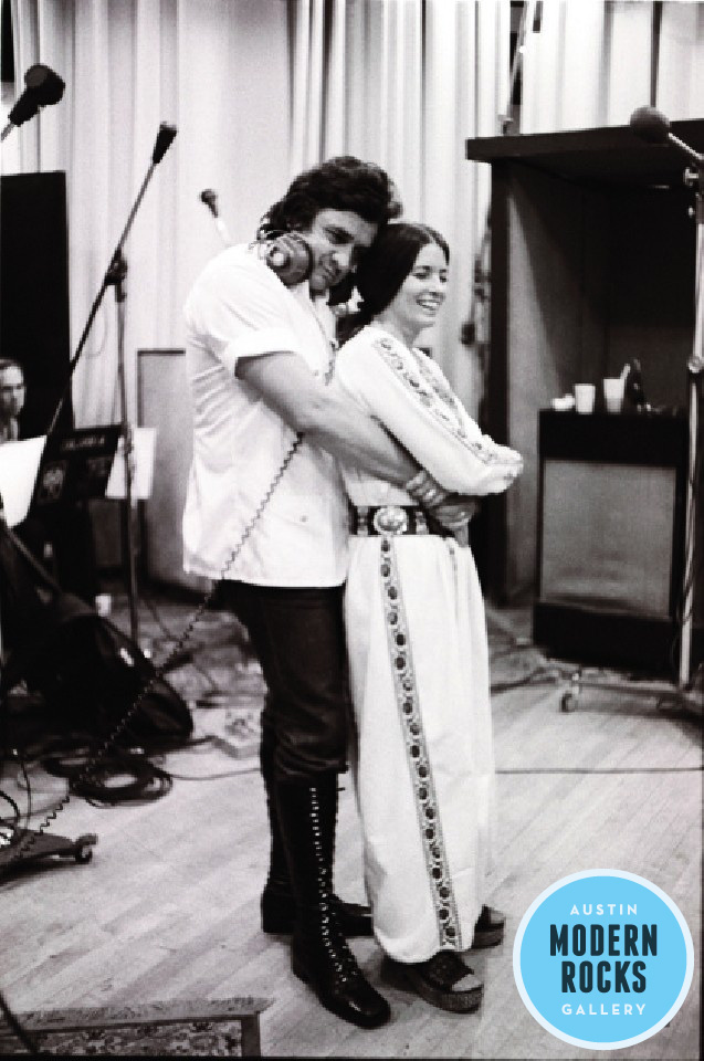Johnny Cash and June Carter Photograph