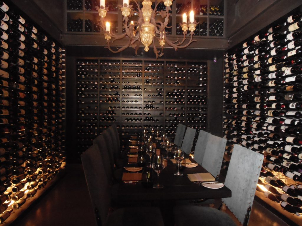 Austins lav earns national recognition for food and wine two story wine cellar at lav in austin arubaitofo Choice Image
