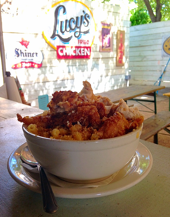 Lucy's Fried Chicken Mac and Cheese