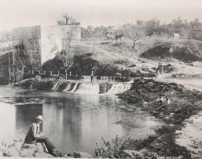 English and English Mill in Austin 1880