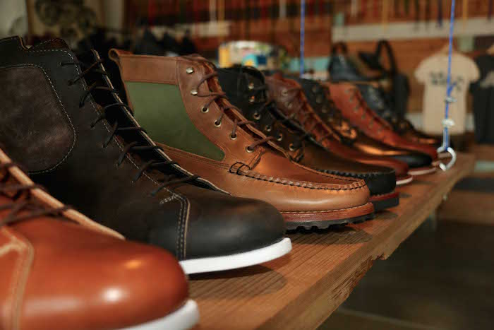 Helm leather boots