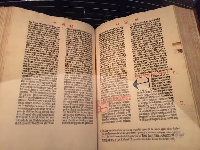 Gutenberg Bible Harry Ransom Center