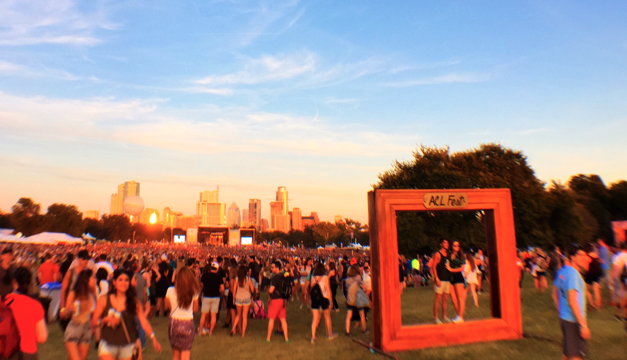 ACL Fest Photo Frame