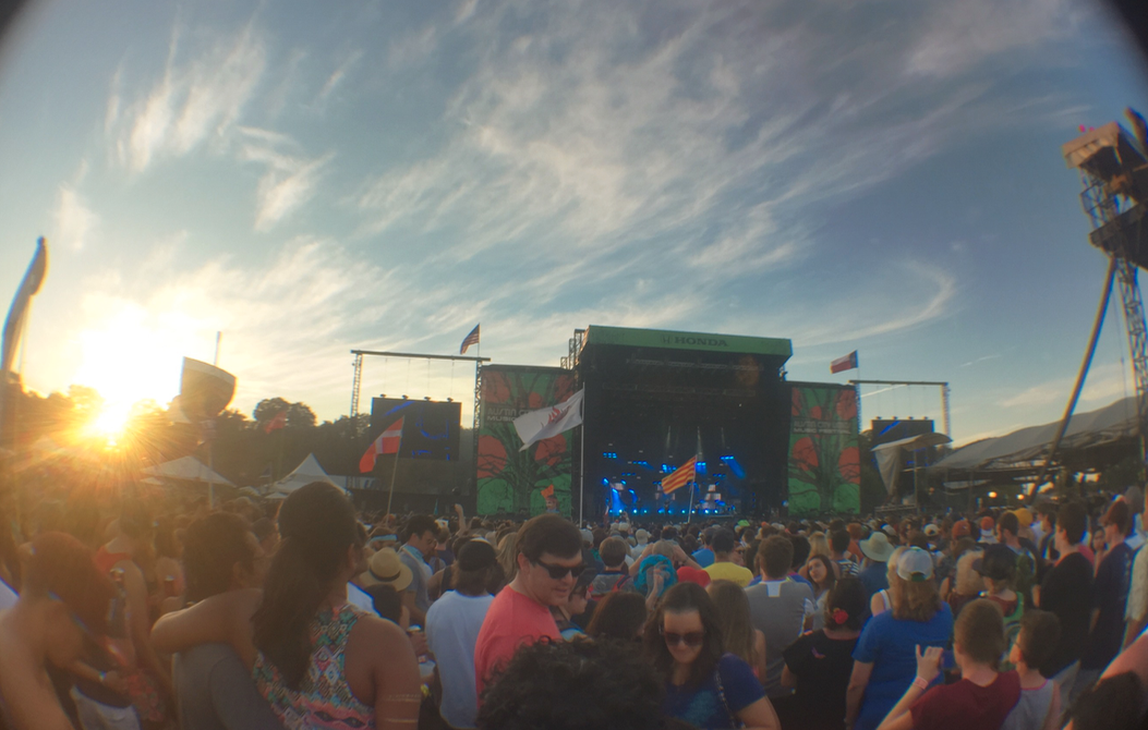 ACL Music Festival Sunset