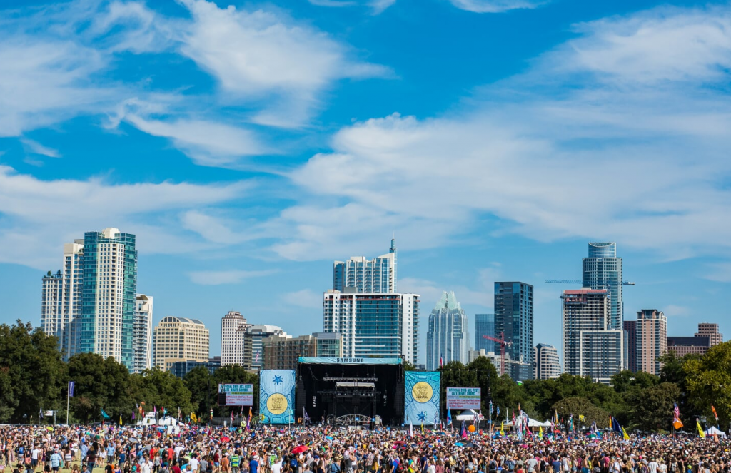 ACL Music Festival State with Crowd
