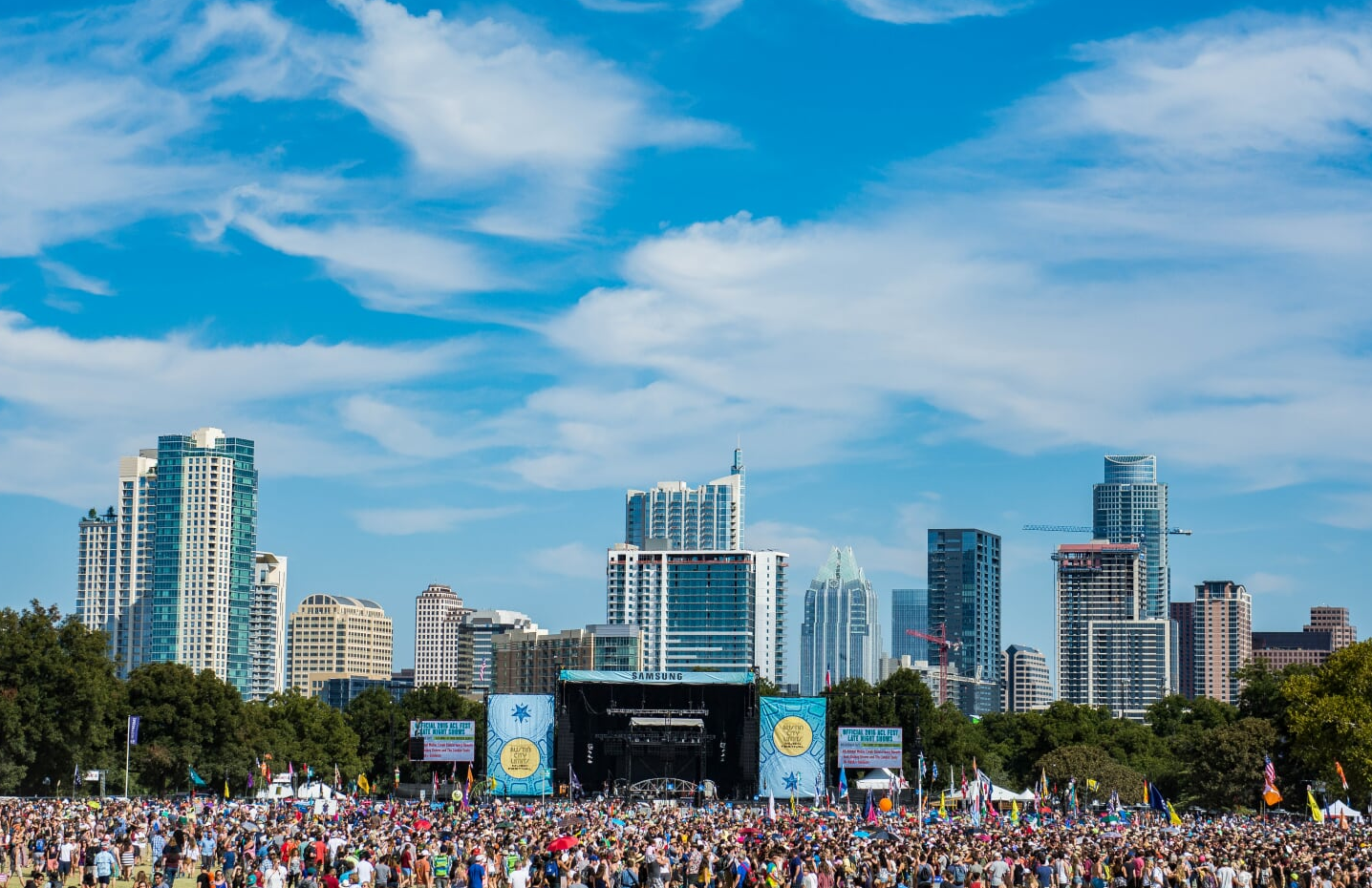 Samsung Stage ACL Fest 2015