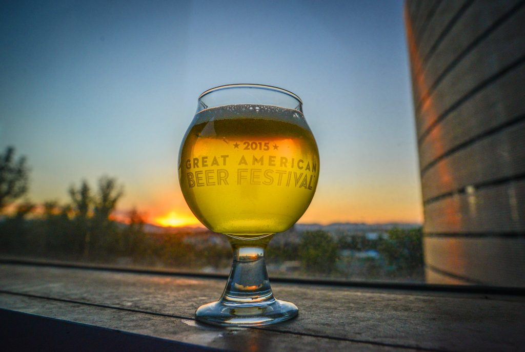 Great American Beer Festival 2015 Glass