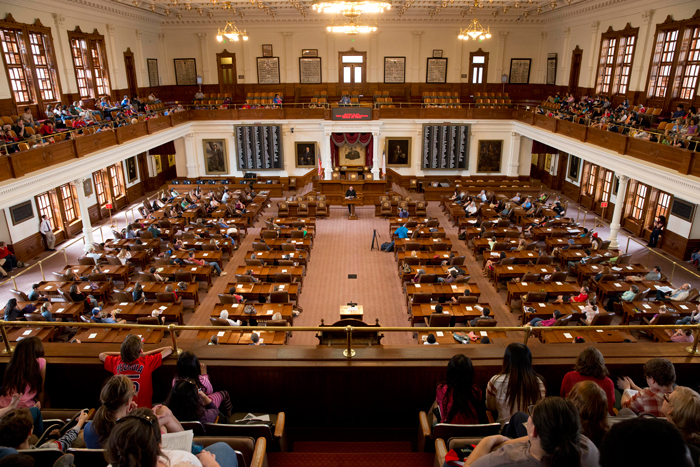 Capitol House Chamber Texas Book Festival