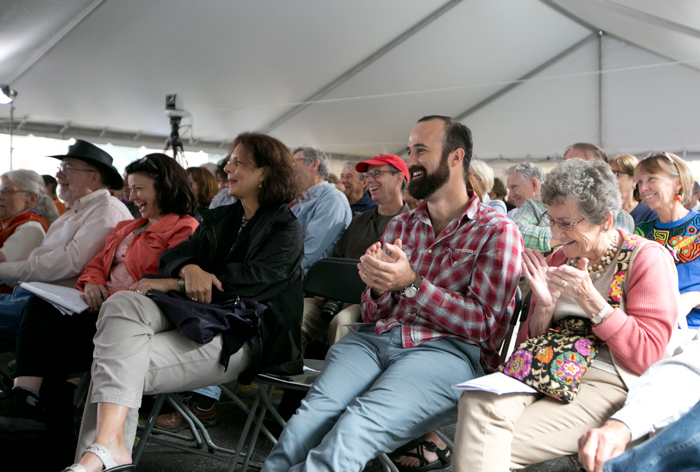 Texas Book Festival Crowd During Panel