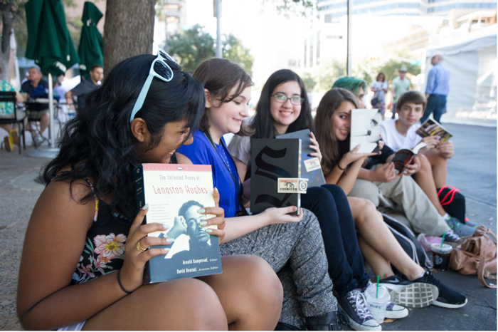 Young Adults at Texas Book Festival