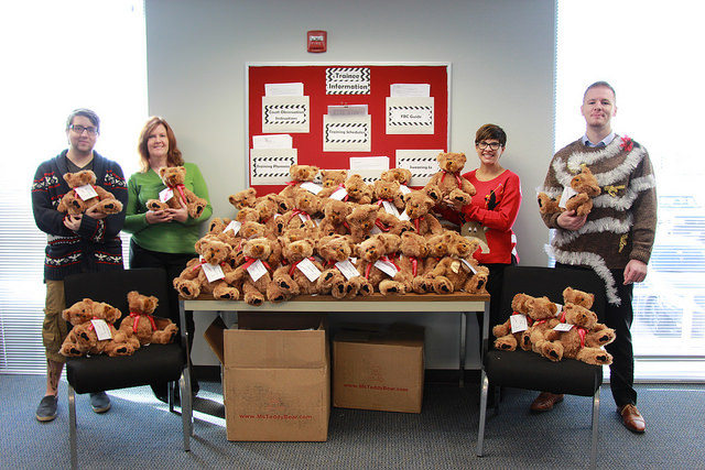 CASA of Travis County Holiday Teddy Bears