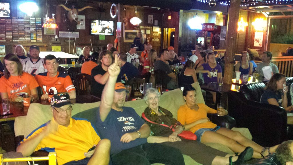 The Local Pub & Patio for Broncos Fans in Austin