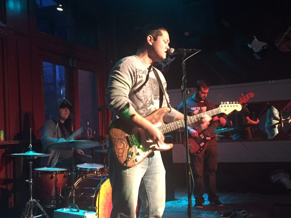 Clay Campania Band Frontman in Austin