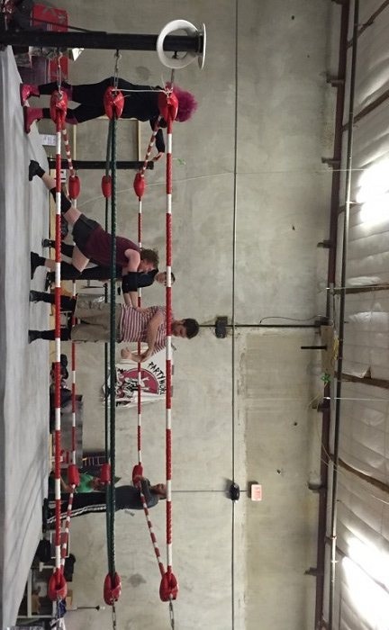 4th Tap Brewing Wrestling Ring