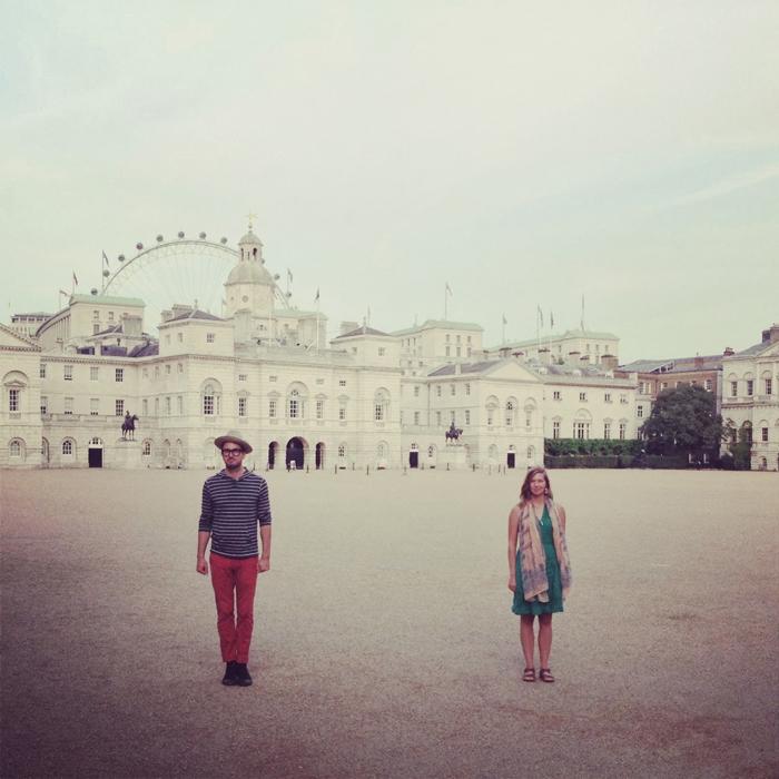 Clara Bensen and Jeff Wilson on International Trip with No Baggage