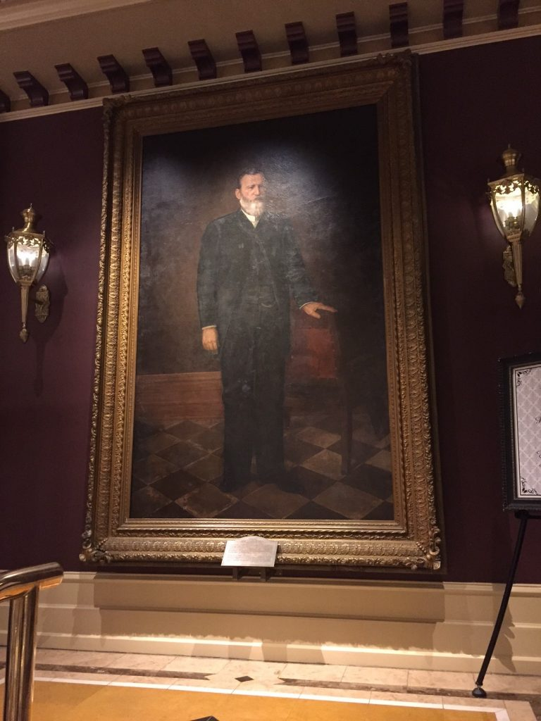Col. Jesse Driskill of The Driskill Hotel