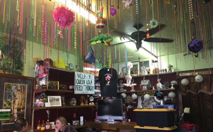 Inside Cajun Soul Food Cafe in Austin