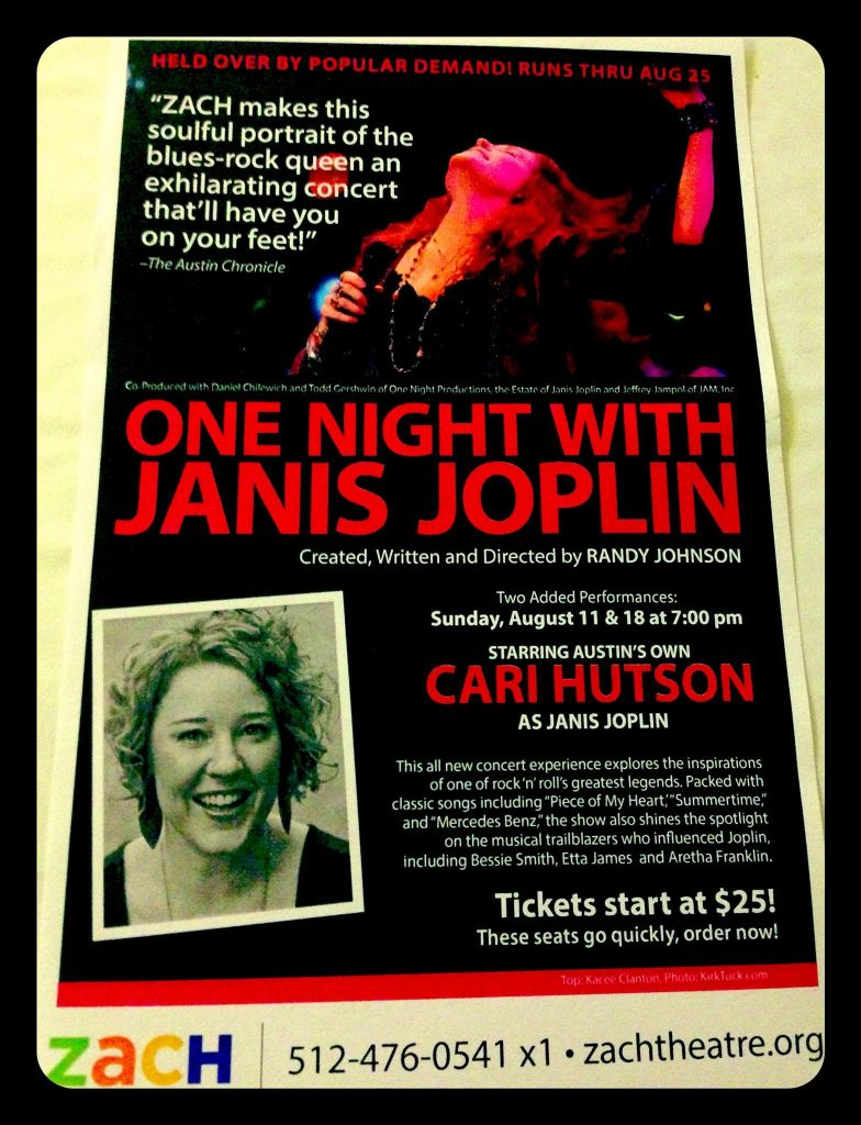 One Night With Janis Joplin Clipping