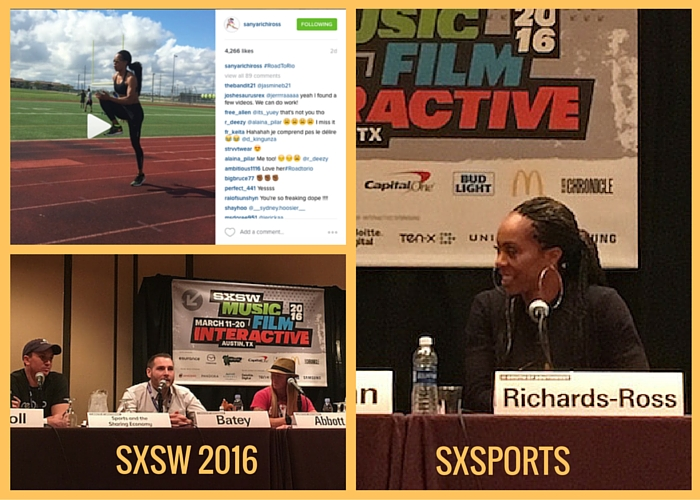 SXSW 2016 SXsports With Sanya Richards-Ross