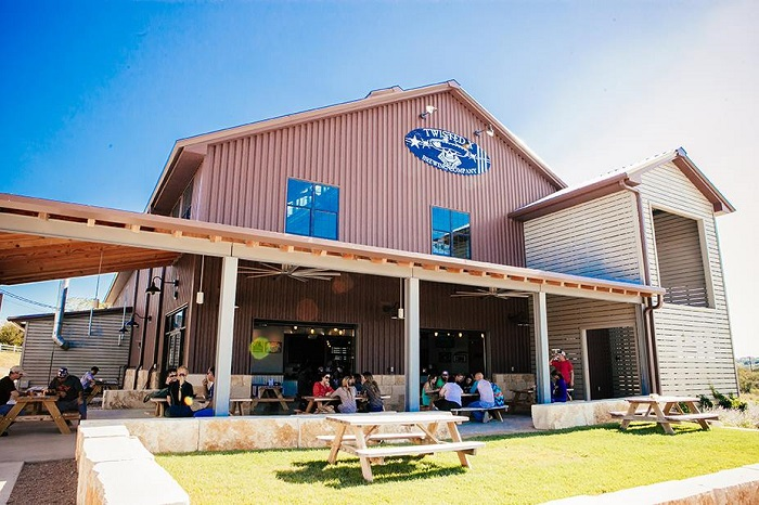 Twisted X Tap Room in Dripping Springs, TX