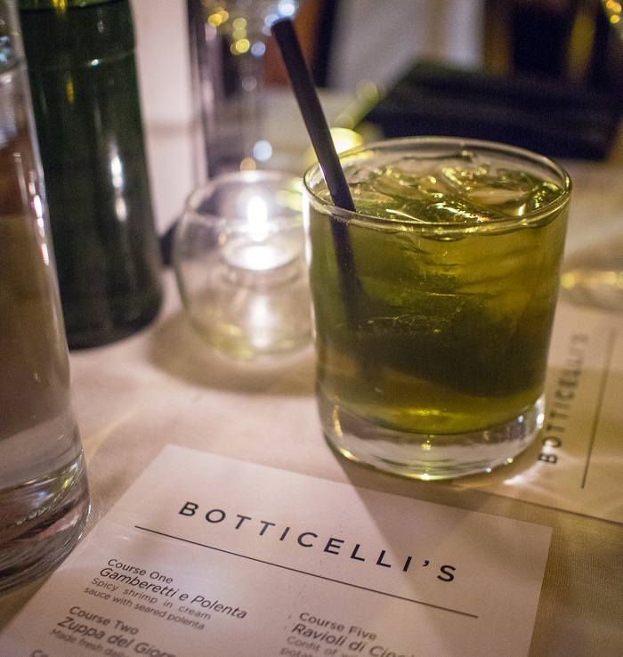 Craft Cocktail at Botticelli's in Austin