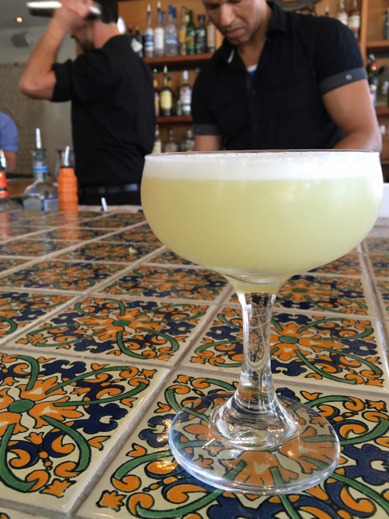 Traditional Pisco Sour Yuyo Austin