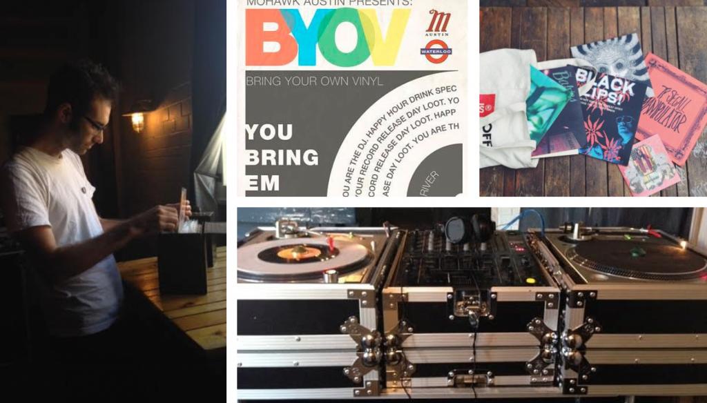 Bring Your Own Vinyl BYOV Austin