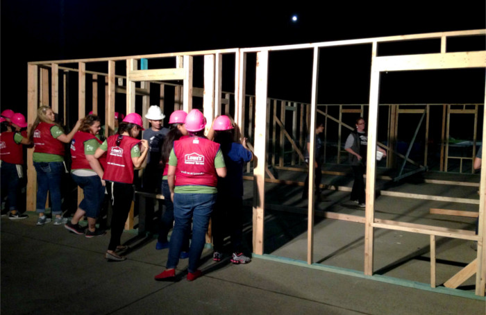 Habitat for Humanity Frame Raising
