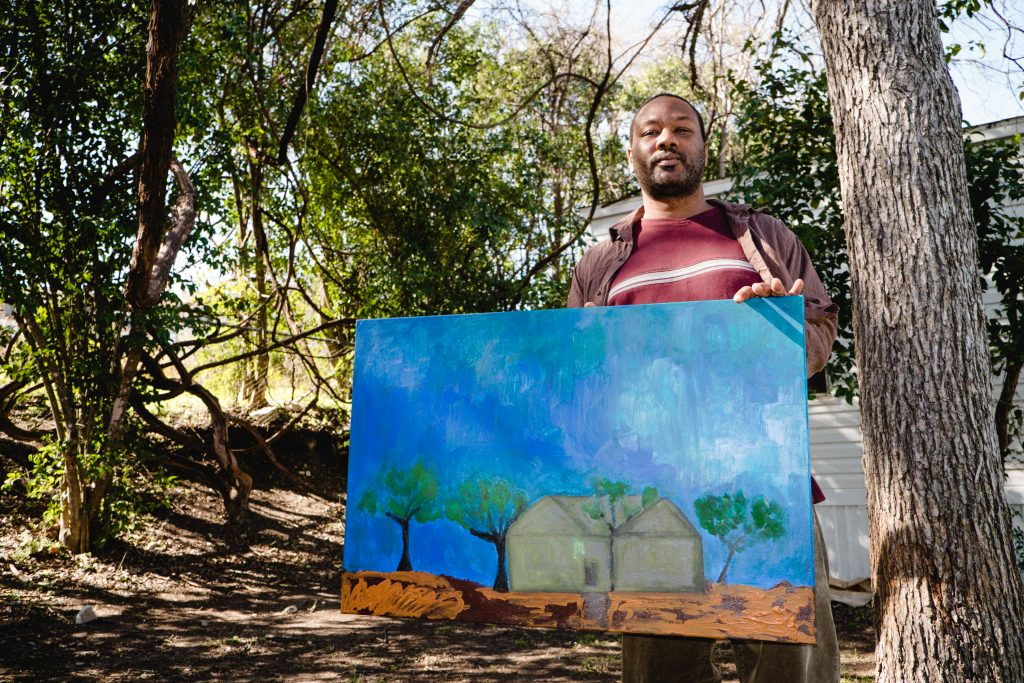Community First Village Resident Painting
