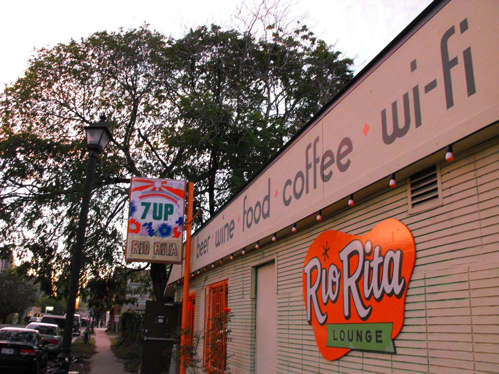 Rio Rita on East Sixth Street in Austin, Texas
