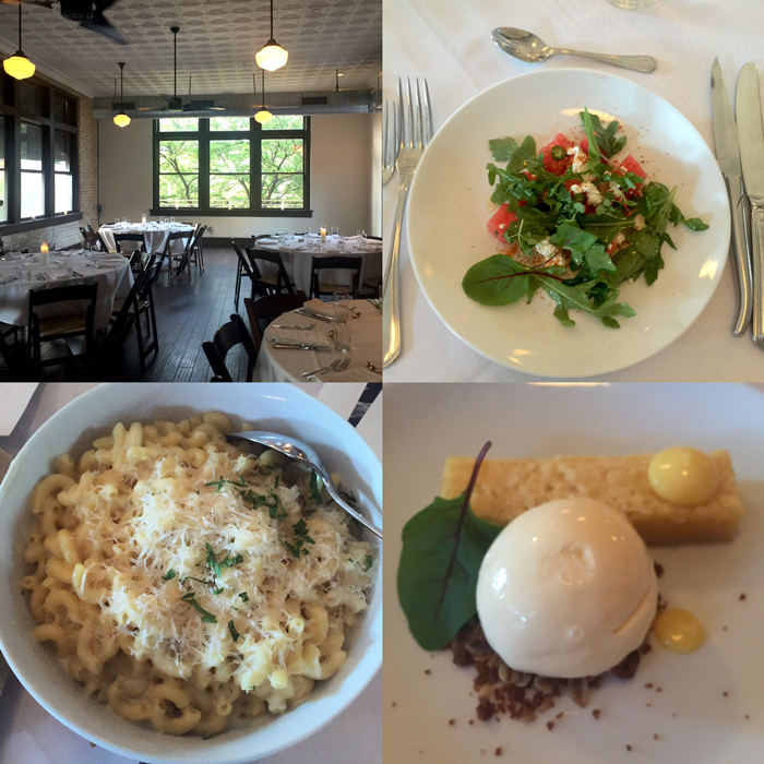Parkside Austin Dishes at Eat Out For Good Supper Club