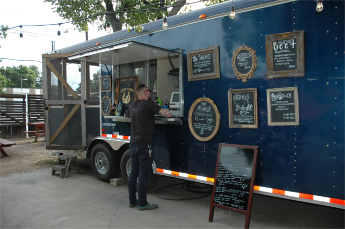 Lady Luck Food Trailer Austin