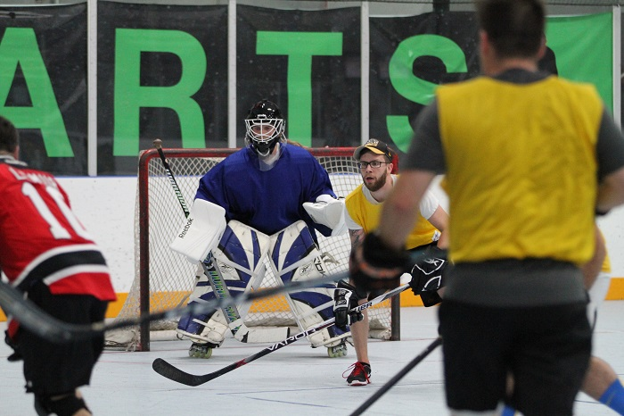 Texas Ball Hockey Goalie