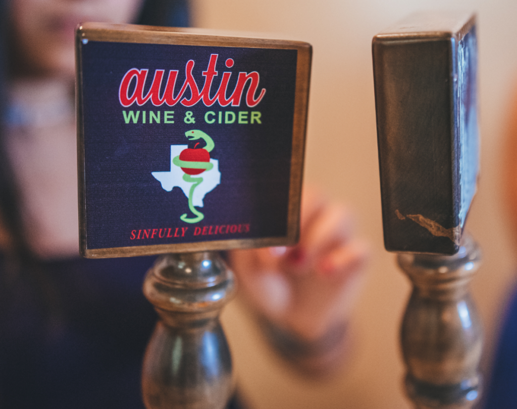 Austin Wine and Cider Taps