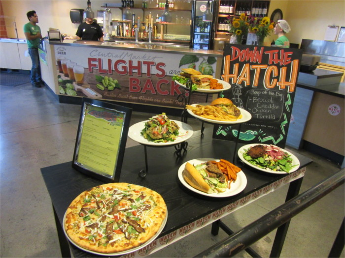Prepared Hatch Chile Items on Menu at Central Market