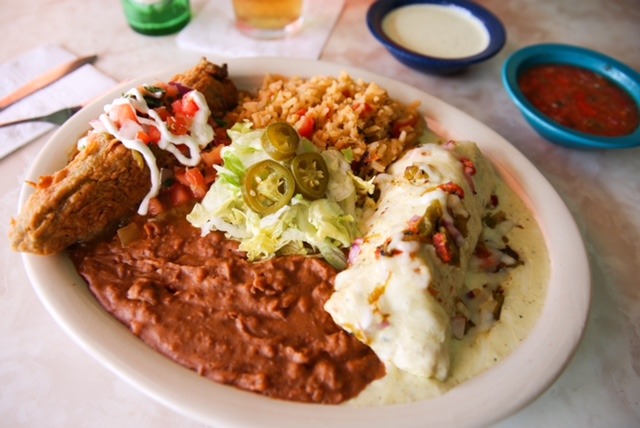 Green Chile Combo at Chuy's in Austin