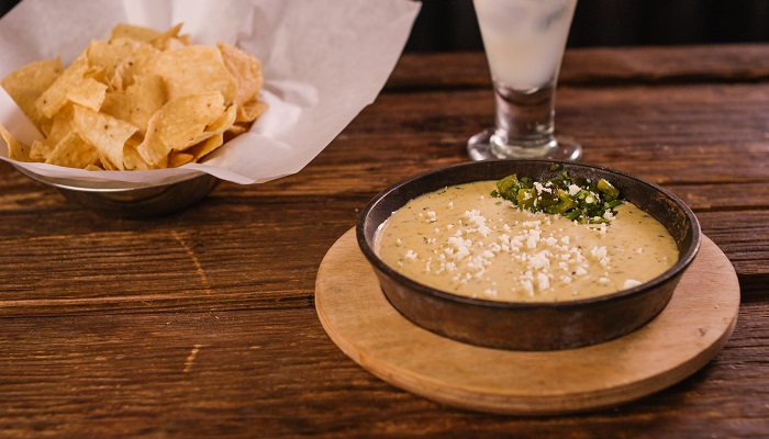 Green chile queso at Z'Tejas