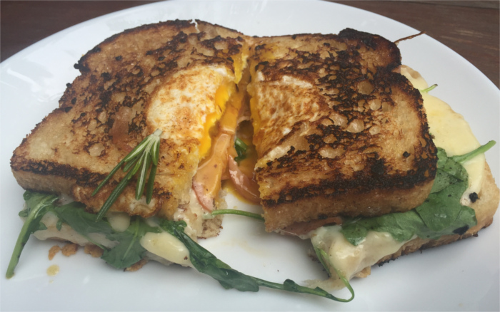 L'Estelle Breakfast Sandwich Austin