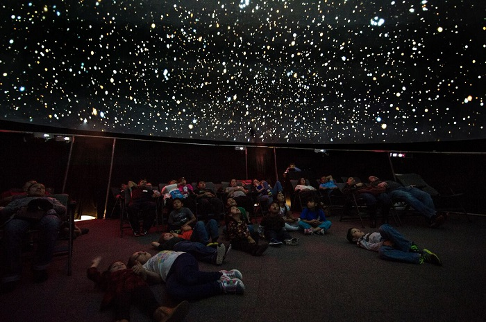 Planetarium at Museum of Science and Technology in Austin