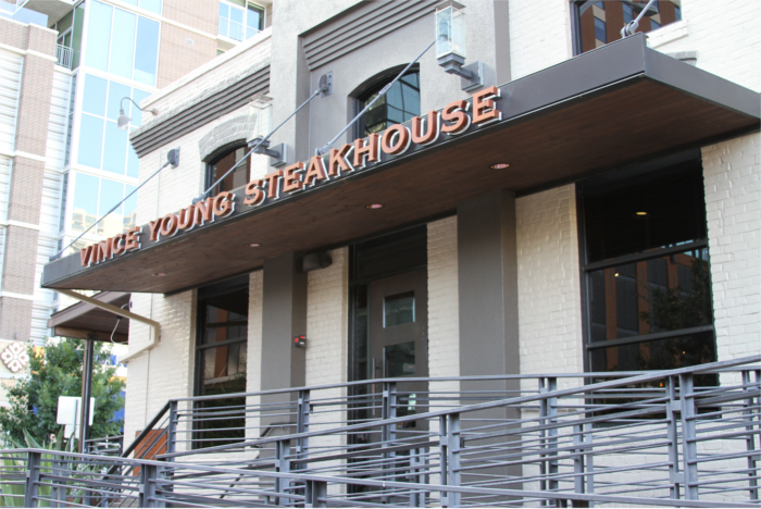Vince Young Steakhouse Downtown Austin