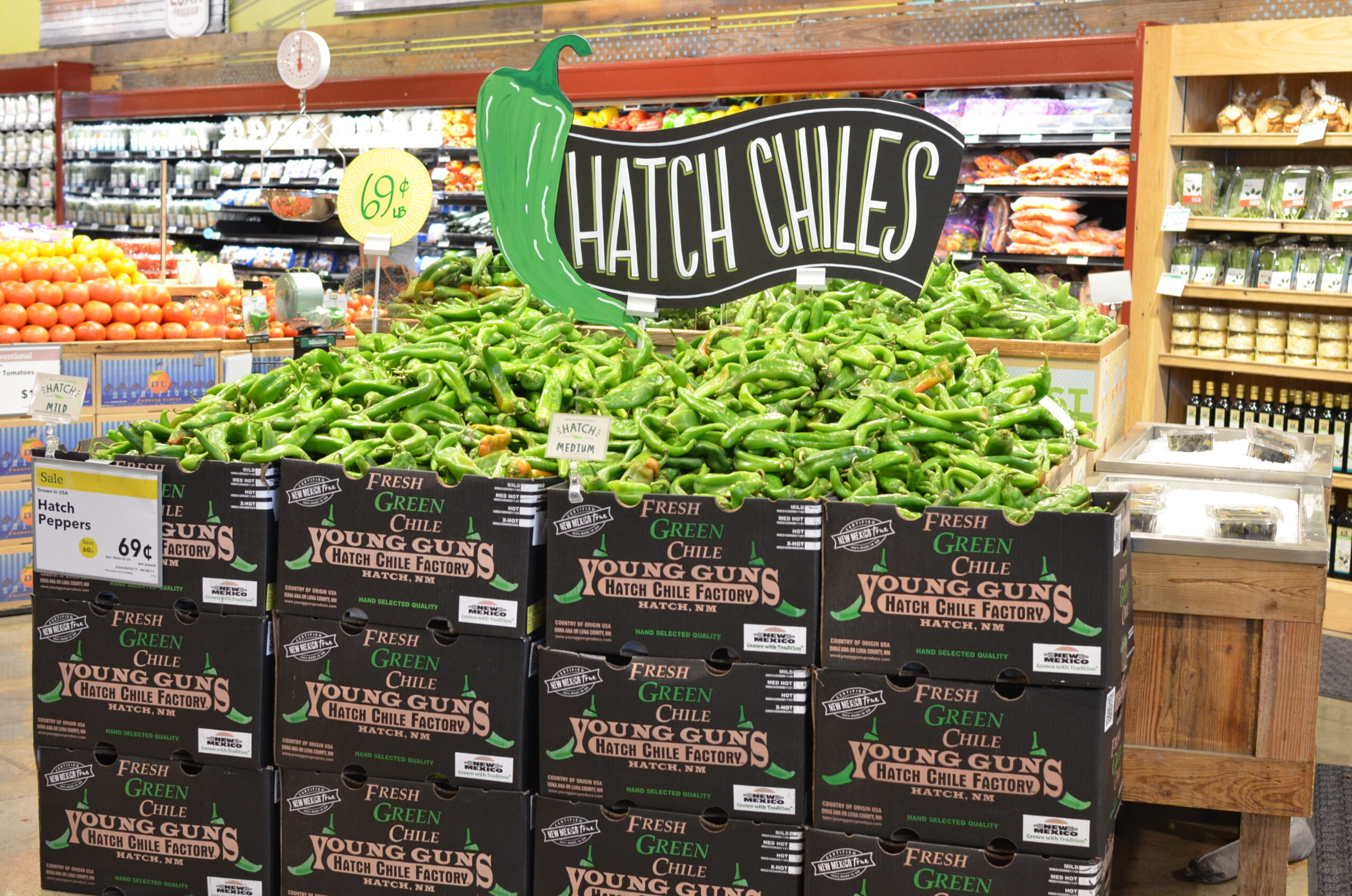 Buy Fresh Hatch Chiles at Whole Foods Market