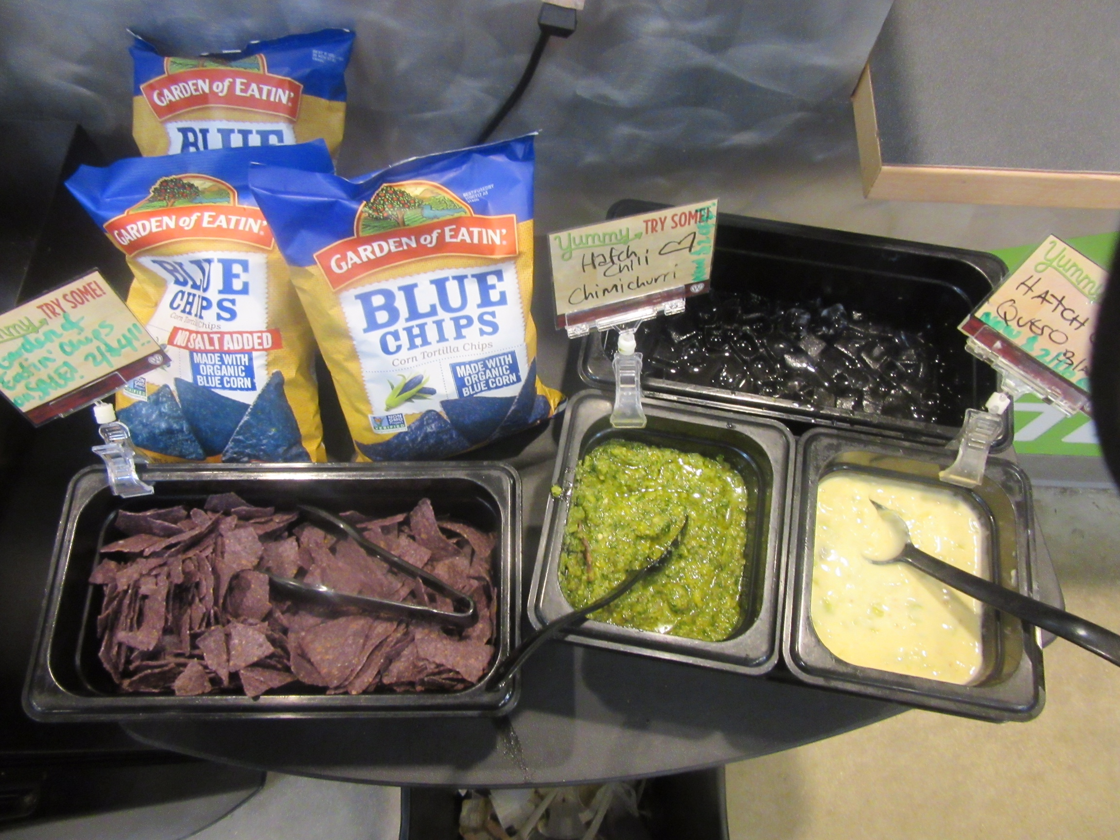 Hatch Green Chile Items at Wheatsville Co-op in Austin