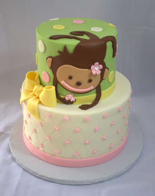 Monkey Cake My Sweet Austin