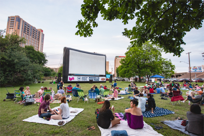 Movies in the Park Austin
