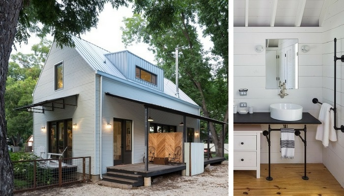Rauser Design's Perfect Wall House in Govalle neighborhood