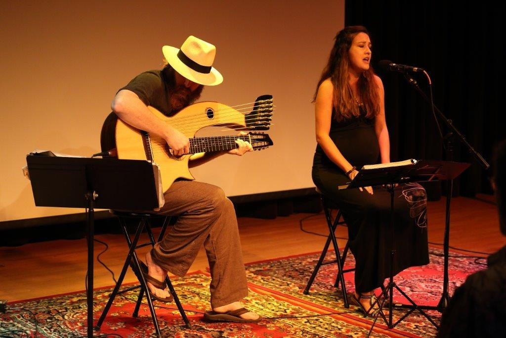 Latin American Musicians Appear at Cafe con Letras