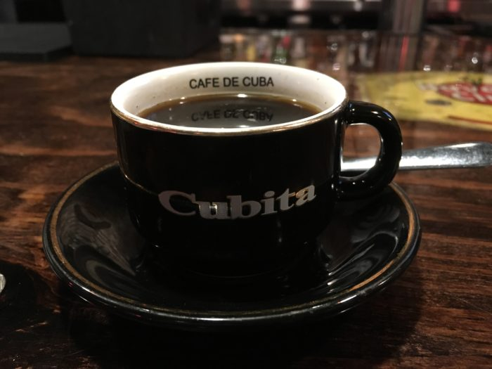 Coffee at CUBA512 in Austin