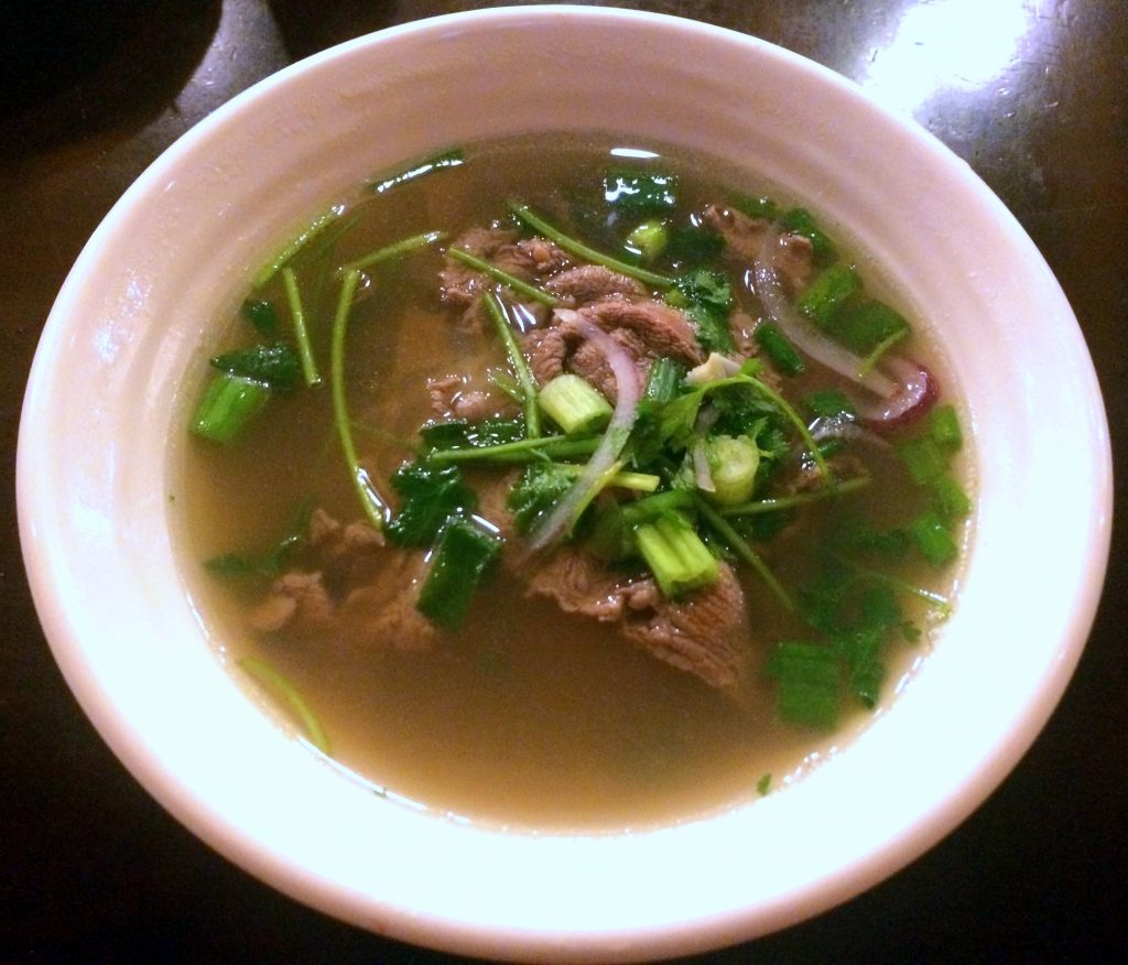 Filet Mignon Pho at PhoNatic