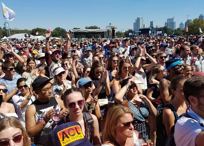 ACL Fest Crowd